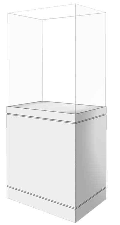 5 Sided Free-Standing-Case