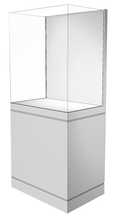 4 Sided Free Standing Case